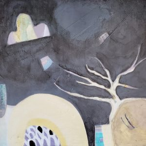 Mutual Encouragement - An original abstract painting by Kathryn Gruber