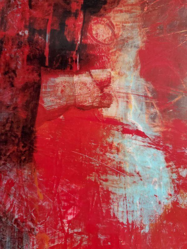 Crimson Joy - an original painting by Kathryn Gruber